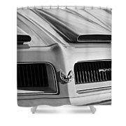 1974 Pontiac Firebird Grille Emblem Shower Curtain