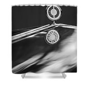 1979 Clenet Hood Ornament -183c Shower Curtain