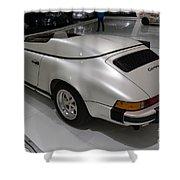 1987 Porsche 911 Carrera 3.2 Speedster Studie Shower Curtain