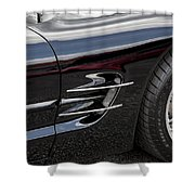 2002 Corvette Ls1 5 7ltr Shower Curtain