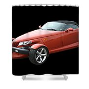 2002 Plymouth Prowler Shower Curtain