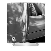 2003 Ferrari Enzo Hood Emblem Shower Curtain