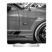 2006 Ford Saleen Mustang Bw Shower Curtain