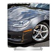 2010 Chevy Corvette Grand Sport Shower Curtain