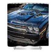 2010 Dodge Challenger Rt Hemi    Shower Curtain
