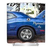 2010 Plymouth Superbird  Shower Curtain