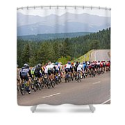 2014 Usa Pro Cycling Challenge Shower Curtain