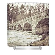 5 Span Bridge Shower Curtain