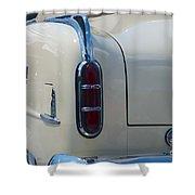 52 Packard Convertible Tail Shower Curtain