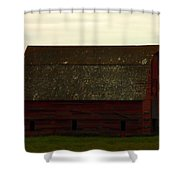 A Barn In Saskatchewan Shower Curtain