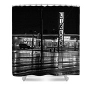 A Beacon For Refreshment Shower Curtain