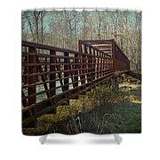 A Bridge Too Far Shower Curtain