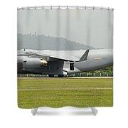 A C-17 Globemaster IIi Of The U.s. Air Shower Curtain