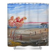 A Country Scene Shower Curtain