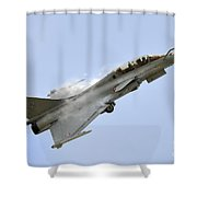 A Dassault Rafale Of The French Air Shower Curtain