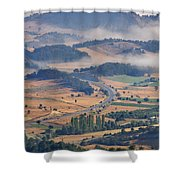 A Foggy Day Shower Curtain