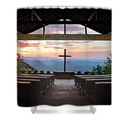 A Good Morning At Pretty Place Shower Curtain