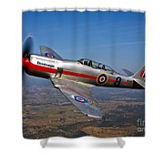 A Hawker Sea Fury T.mk.20 Dreadnought Shower Curtain