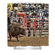 A Night At The Rodeo V6 Shower Curtain