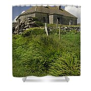 Abandoned Farm In Ireland Shower Curtain