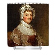 Abigail Smith Adams By Gilbert Stuart Shower Curtain