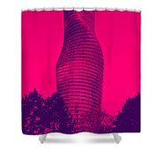 Absolute Tower Shower Curtain
