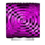 Abstract 134 Shower Curtain