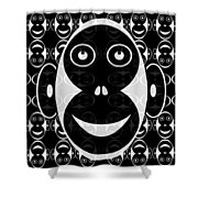 Abstract 145 Shower Curtain by J D Owen