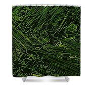 Abstract 286 Shower Curtain