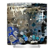 Abstract 695213 Shower Curtain