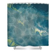 Blessed - Abstract Art  Shower Curtain