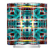 Abstract Pattern 5 Shower Curtain