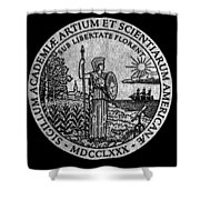 Academy Of Arts & Sciences Shower Curtain