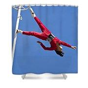 Acrobatic Performance Shower Curtain