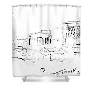 Acropolis Shower Curtain