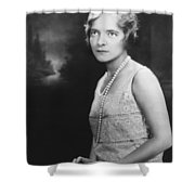 Actress Helen Hayes Shower Curtain