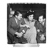 Actress Joan Crawford Shower Curtain