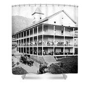 Adirondack Hotel, 1889 Shower Curtain