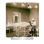 Administering Anesthesia 1922  Shower Curtain