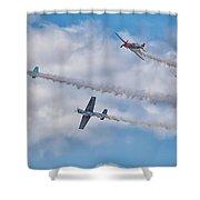 Aerostars Shower Curtain