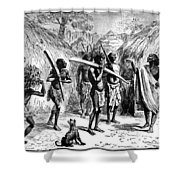 Africa Ivory Trade Shower Curtain