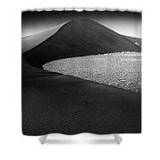 Africa, Namibia, Namib Desert, View Shower Curtain