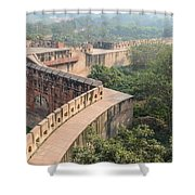 Agra Fort Tourist Destination In India Shower Curtain