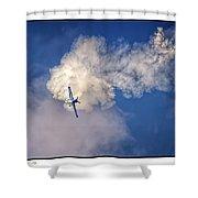 Air Show Selfridge Havilland Super Chipmunk Shower Curtain