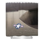 Airplanes At The Airshow Shower Curtain