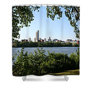 Albany Skyline Shower Curtain