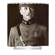 Albert I (1875-1934) Shower Curtain