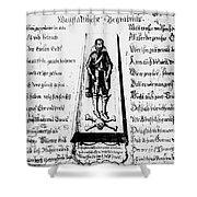 Albrecht Von Wallenstein (1583-1634) Shower Curtain