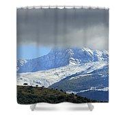 Alcazaba 3315 Meters Shower Curtain