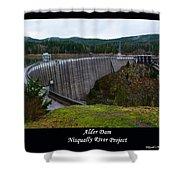 Alder Dam Shower Curtain